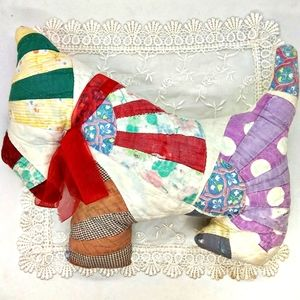 Vintage Quilt Repurposed Scotty